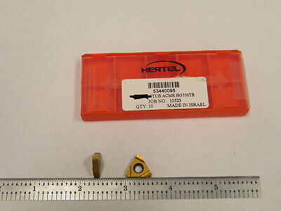 Hertel Hg330tr Stub Acme Carbide Inserts 2 Pcs