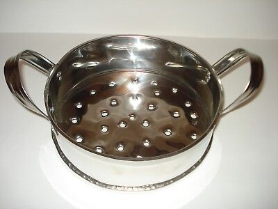 Padella in acciaio inox per caldarroste - Padella forata per cuocere sulla brace