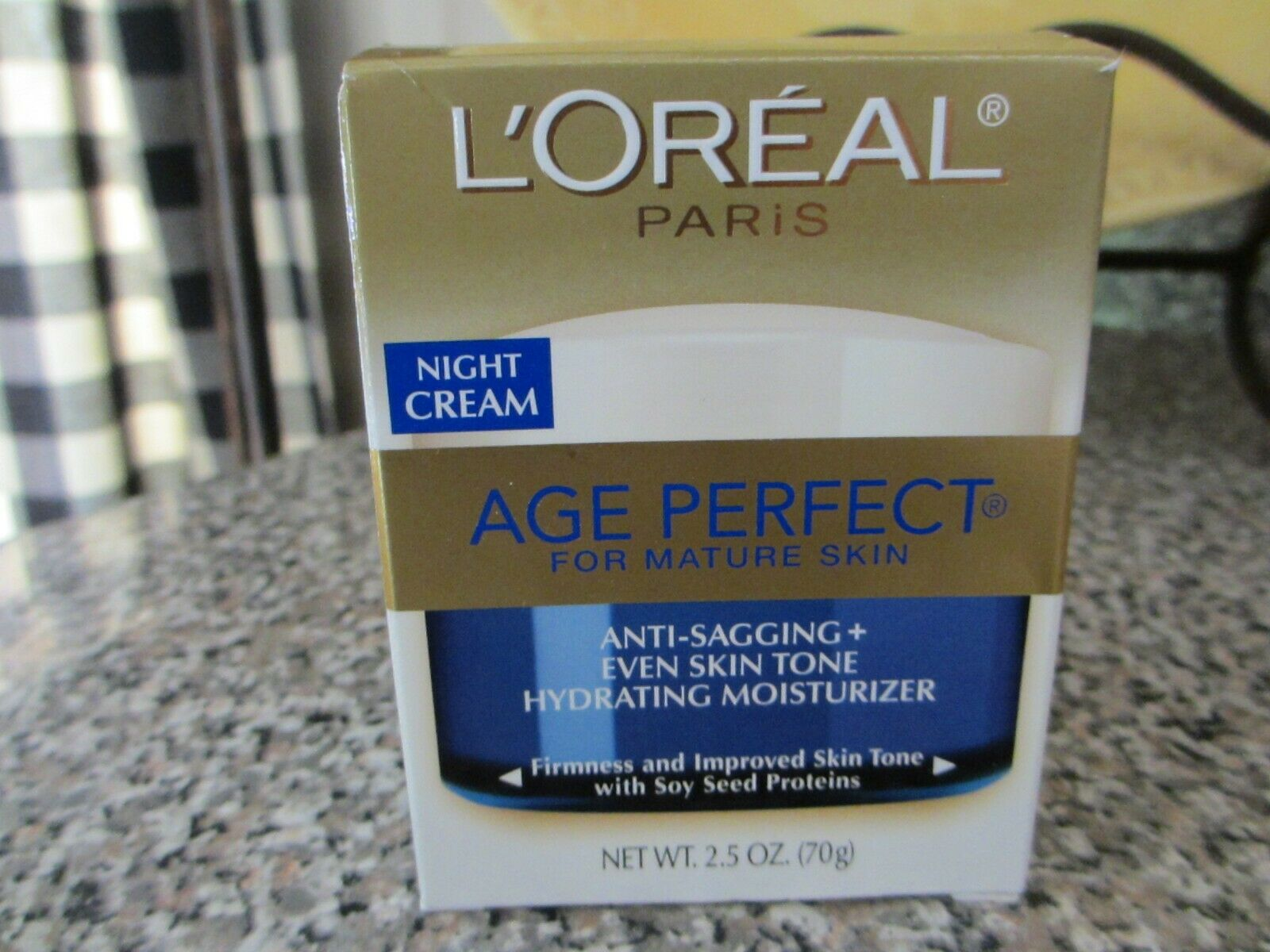 Loreal Age Perfect Night Cream 2.5 Ounce Jar
