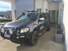 2014 Ford Ranger Ute Chifley Woden Valley Preview