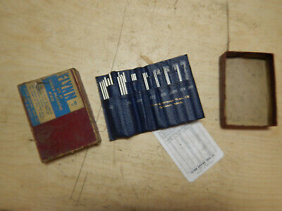 Box Of Older Flynn Thread Measuring Wires Set No. 11 Machinist Tool