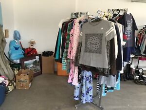 Lots of clothing for sale