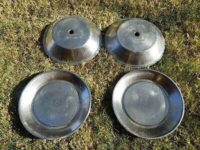 2 Finessa Kreis Switzerland Heated Stainless Warming Warmer Plates With Covers