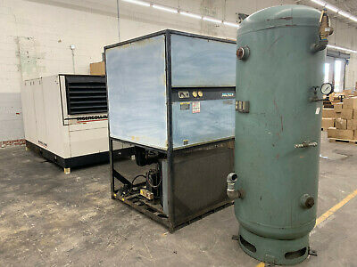 1998 Ingersoll-rand Ssr-ep150 150 Hp 575v Air Compressor W Dryer And Air Tank