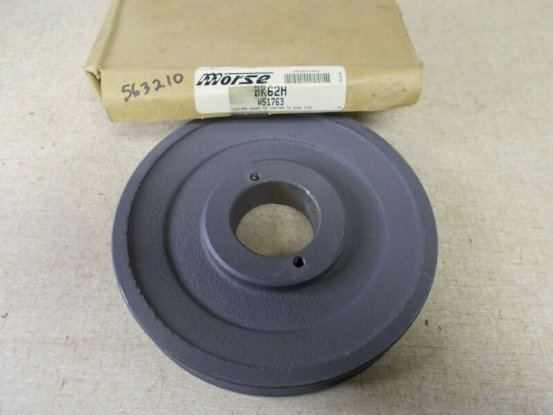 NEW Morse BK62H Pulley Sheave W51763 *FREE SHIPPING*