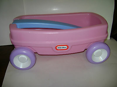 LITTLE TIKES TYKES LIL WAGON FUN SPARKLING PINK fits AMERICAN GIRL DOLL RARE ()
