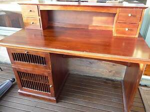 Antique looking desk with hutch addition Elanora Heights Pittwater Area Preview