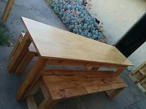 PALLET FURNITURE Narrow Kitchen-dinning or Outdoor Table Thebarton West Torrens Area Preview