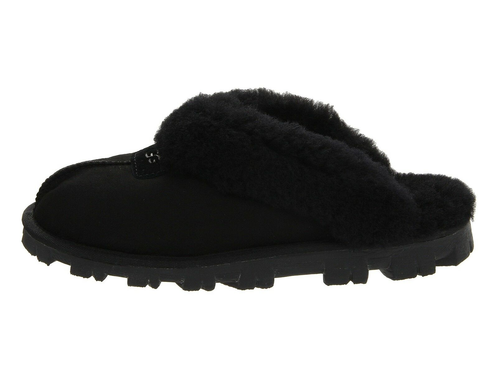Women's Shoes UGG COQUETTE Sheepskin Slippers 5125 BLACK 5 6 7 8 9 10 11 *New* 1