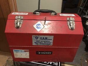 Husky cantilevered Toolbox for sale