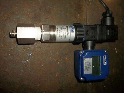 Wika 7082534 Digital Indicator W 9734538 Transmitter 100 Psia 10-30v Wl81