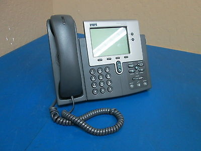 Cisco Systems 7940 Cp-7940g Ip Business Phone Sn Fch10169yu9
