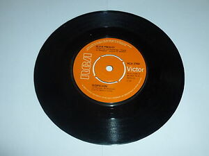 ELVIS-PRESLEY-Suspicion-1970-UK-orange-RCA-label-7-Vinyl-Single
