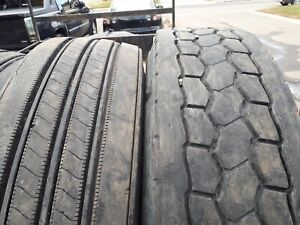 "Used truck casings 11r 22.5"" BRIDGESTONE"