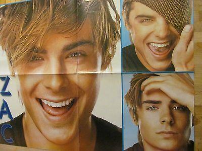 Zac Efron, Ashley Tisdale, Double Four Page Foldout Poster