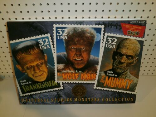 "12"" Universal Studios Monsters Figures USPS 1997"