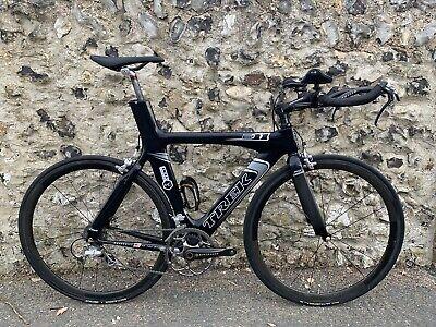 Trek E11 TT Race Bike - Time Trial / Triathlon - 56cm - Full Carbon & Aero Wheel