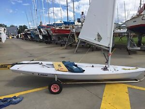 Excellent Laser Sailing Dinghy Williamstown Hobsons Bay Area Preview