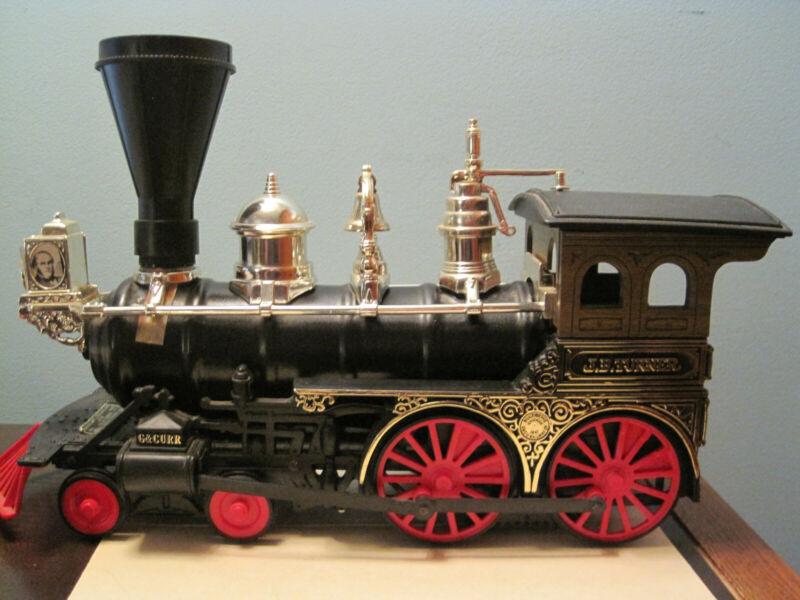 Jim Beam Train / J. B. Turner Locomotive / Engine / Car / Box / Papers