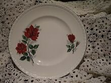 "ANTIQUE VINTAGE WEDGEWOOD ENGLAND ""HEDGE ROSE"" 6-63 DINNER PLATE Kambah Tuggeranong Preview"