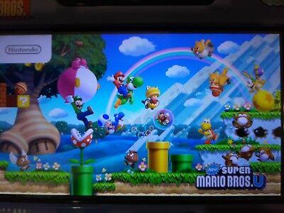 Nintendo Wii U Deluxe 32GB Black Console - Mario Kart 8 - Zelda + Kirby & More