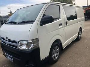 Toyota Hiace Van 2010 Turbo Diesel Smithfield Playford Area Preview