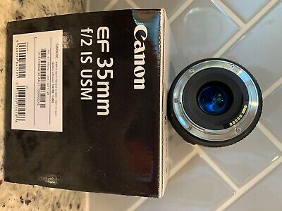 canon 35mm f2 lens great used condition! Used for personal family use only!