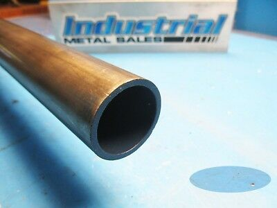 Dom Seamless Steel Round Tube 2 O.d X 12 X .120 Wall Free Shipping