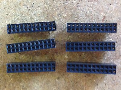 10pcs Of High Quality Nos Dupont Board To Board Connector 2x12 Pins
