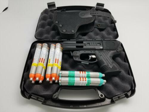 PIEXON JPX 4 COMPACT SHOT DEFENDER PEPPER GUN WITH CORDURA BELT HOLSTER