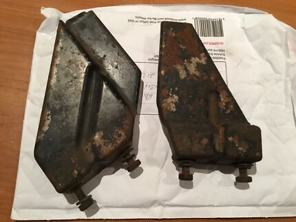 Xa xb xc ford v8 wide top radiator brackets (pair)