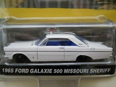 Ford Galaxie 500 Police Car (GREENLIGHT - COUNTY ROADS - 1965 FORD GALAXIE 500 SHERIFF UNMARKED POLICE CAR )