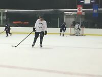 Beginner Shinny. Coed Hockey
