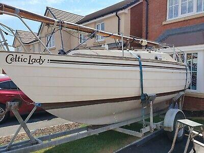 Yacht skanner 19 trailer sailer
