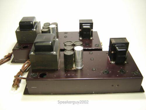 Pair of Vintage Baldwin 60M Mono Block Tube Amplifiers / 6550 -- KT
