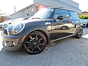 MINI COOPER S 2013 COUPÉ -- CUIR - TOIT PANO - MAGS - BLUETOOTH