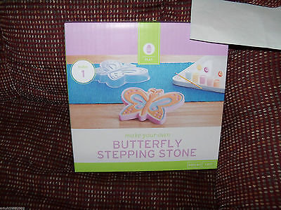 Butterfly Stepping Stone Make-your-own NEW HTF (Make Your Own Stepping Stones)