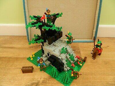 Lego Castle Forestmen – 6066 Camouflaged Outpost – Complete - Vintage Set - 1987