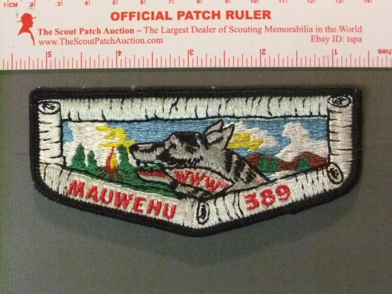 Boy Scout OA 389 Mauwehu flap 6680JJ