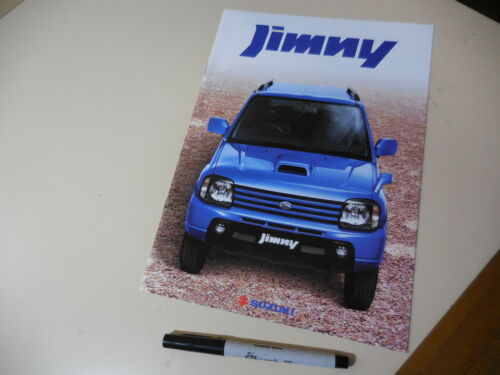 SUZUKI JIMNY Japanese Brochure 2002/09 JB23W K6A Kei 660cc