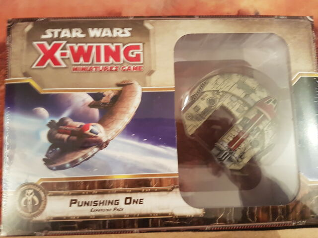 STAR WARS X-WING PUNISHING ONE EXPANSION PACK - NEW & SEALED