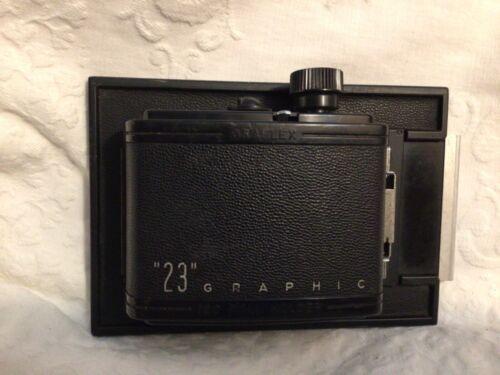 Graflex 23 Graphic 120 Roll Film Holder vintage