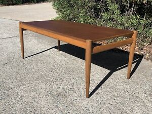 Mid Century Teak Burgess of Melbourne Teak Coffee Table on ...