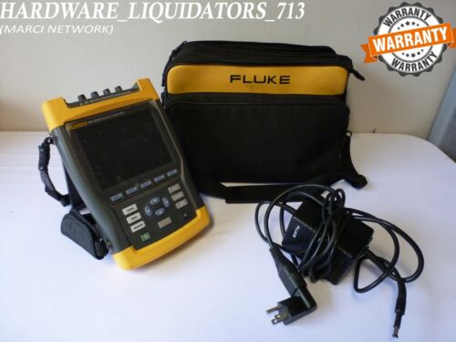 Fluke 434 Quality Analyzer Three Phrase Fast Shipping