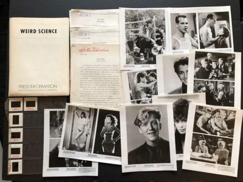 Weird Science (1985) - Original Movie Press Kit Envelope w/Photos & Press News