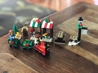 LEGO 40262 CHRISTMAS WINTER TRAIN RIDE Seasonal 100%Complete w/manual