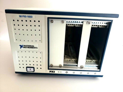 National Instruments NI PXI-1033 Chassis 5 Slot, Chassis 194918H-01L