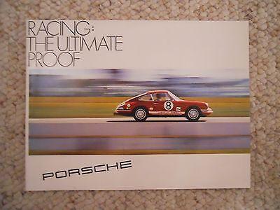 "1969 Porsche 911/912 ""Racing: The Ultimate Proof"" Brochure / Prospekt RARE! L@@K"