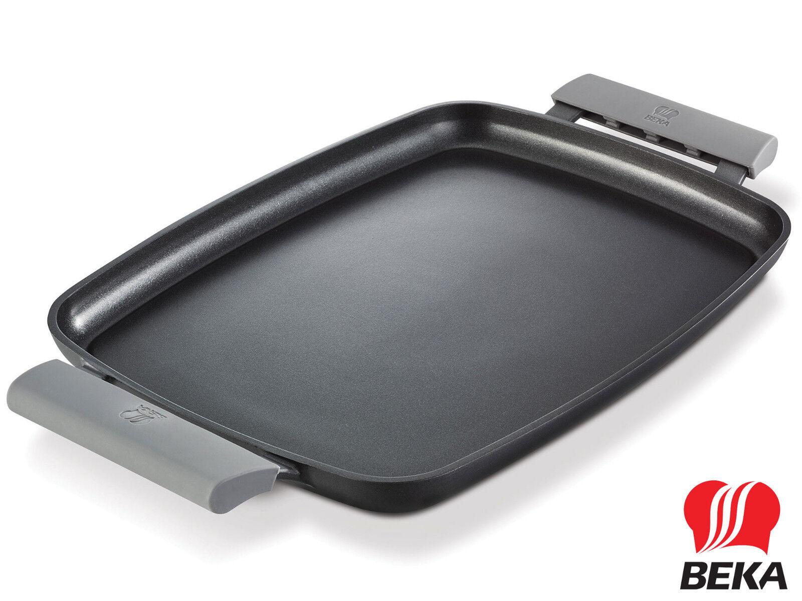 BEKA Aluguss Teppanyaki Grillplatte glatt 47 cm Vollflächen-Induktion