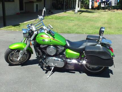 Kawasaki Meanstreak Cruiser VN1600B Vulcan Capalaba Brisbane South East Preview